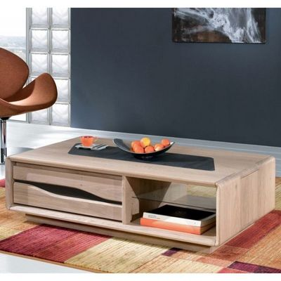 Ateliers De Langres - Table basse rectangulaire-Ateliers De Langres-Table basse rectangulaire CERAM