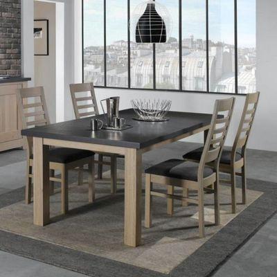 Ateliers De Langres - Table de repas rectangulaire-Ateliers De Langres-Table WHITNEY