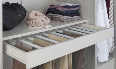 CDL Chambre-dressing-literie.com - Tiroir porte pantalons-CDL Chambre-dressing-literie.com