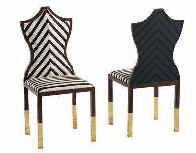 ROCHE BOBOIS - Chaise-ROCHE BOBOIS
