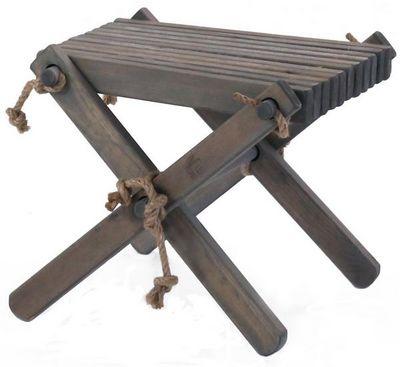 ECOFURN - Footstool-ECOFURN-Repose pieds Table basse Lilly Pin Gris