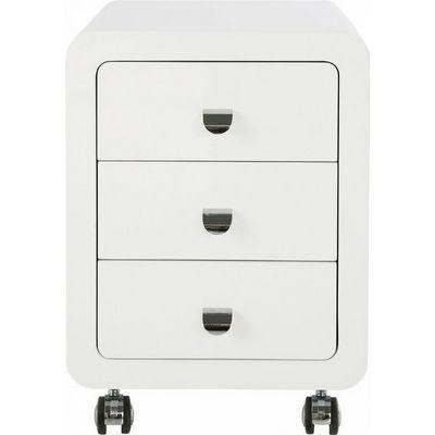Kare Design - Caisson de bureau-Kare Design-Caisson de bureau White Club 3 tiroirs