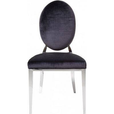 Kare Design - Chaise-Kare Design-Chaise Design Medaillon Steel Kare design