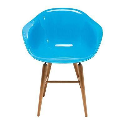 Kare Design - Chaise-Kare Design-Chaise avec accoudoirs Forum bleu