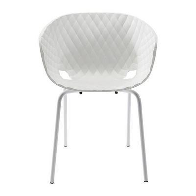 Kare Design - Chaise-Kare Design-Fauteuil Radar Bubble blanc