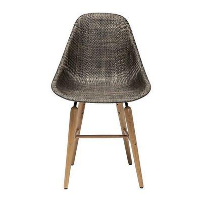 Kare Design - Chaise-Kare Design-Chaise Forum bois marron