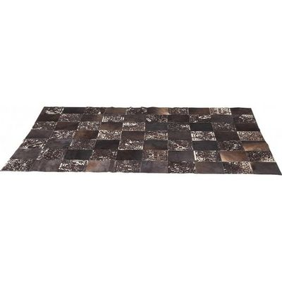 Kare Design - Tapis contemporain-Kare Design-Tapis en cuir Square Ornament 170x240cm