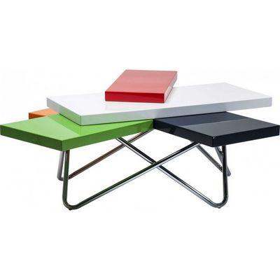 Kare Design - Table basse forme originale-Kare Design-Table basse design Micado Colore 105x94 cm