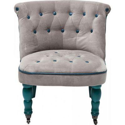 Kare Design - Fauteuil-Kare Design-Fauteuil Crapaud Entree Bleu
