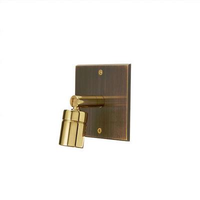 MODELEC - Lampe de lecture-MODELEC-Spot sur façade simple - Vieux bronze