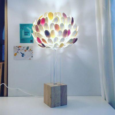 MILLIE BAUDEQUIN - Lampe à poser à LED-MILLIE BAUDEQUIN-Olea (petite)