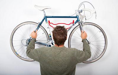 ROSS DOLTON -  Porte-v�los-ROSS DOLTON-bull bike rack - fur