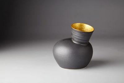 JO DAVIES - Vases d�coratifs-JO DAVIES-Gilded Speak Vase