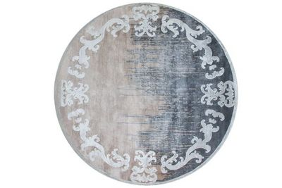 EDITION BOUGAINVILLE - Tapis contemporain-EDITION BOUGAINVILLE-MARQUISE circle shadow winter