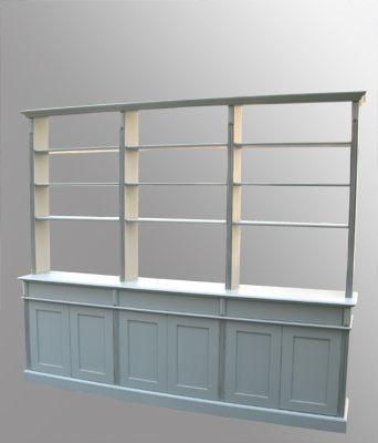 Lawrens - Bibliothèque modulable-Lawrens-Vaisselier bibliothèque sur  mesure