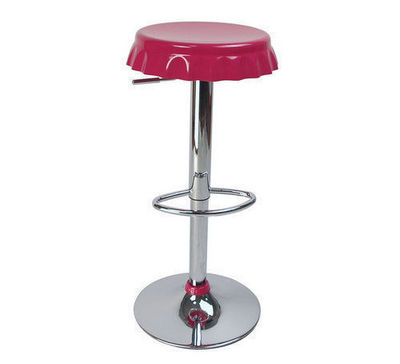 Miliboo - Tabouret de bar-Miliboo-lot de 2 tabourets Capsules rose