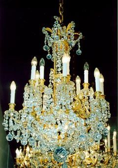 Berman Freres - Lustre-Berman Freres-Lustre de style Louis XVI