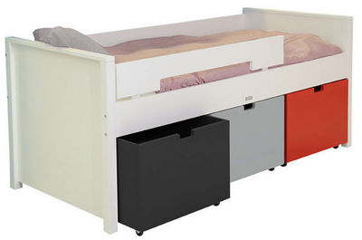 File dans ta chambre - Lit enfant � tiroir-File dans ta chambre-Lit Mix and Match Compact