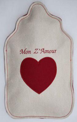 LES BOUILLOTTES DE BEA - Bouillotte-LES BOUILLOTTES DE BEA-Mon Z'Amour