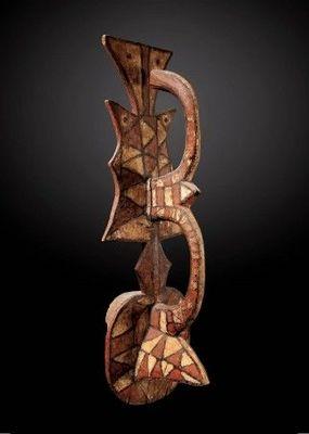 Galerie Ombres Olivier Larroque - Masque africain-Galerie Ombres Olivier Larroque-Masque, Gurunsi