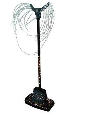 Catherine Videlaine - Sculpture-Catherine Videlaine-Jeune fille à la robe à pois