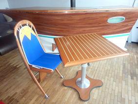 Deck Line - Table télescopique-Deck Line-Square Deck Lift