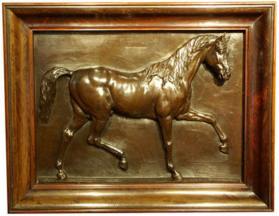 Philippe Vichot - Haut relief-Philippe Vichot-Maverley, appartenant à Jacob Esser
