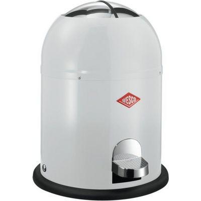 Wesco - Poubelle de cuisine-Wesco-Kickmaster 9L salle de bains blanche