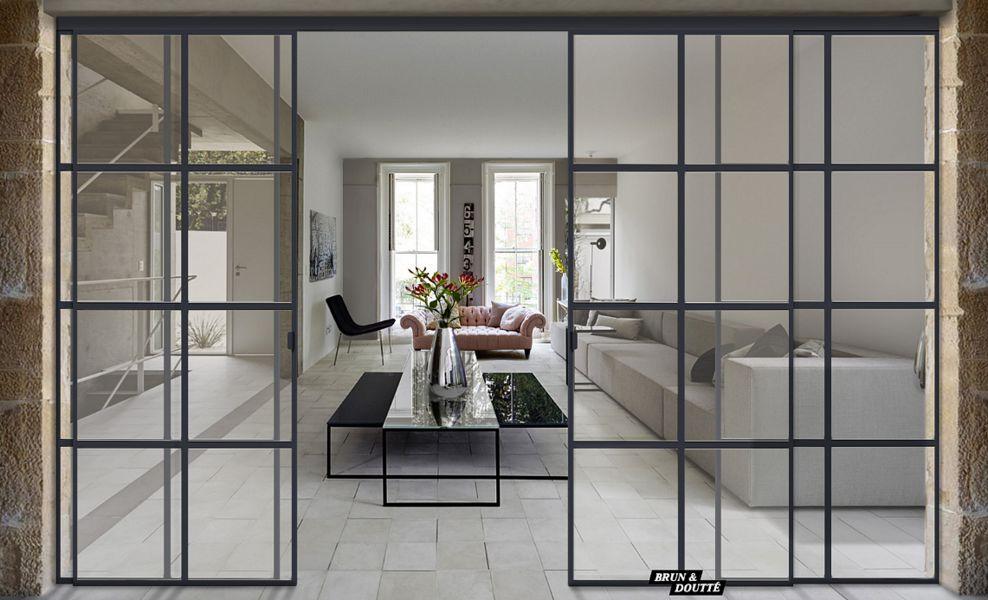 Brun et Doutté Glass walls for interiors Glass Doors and Windows  |