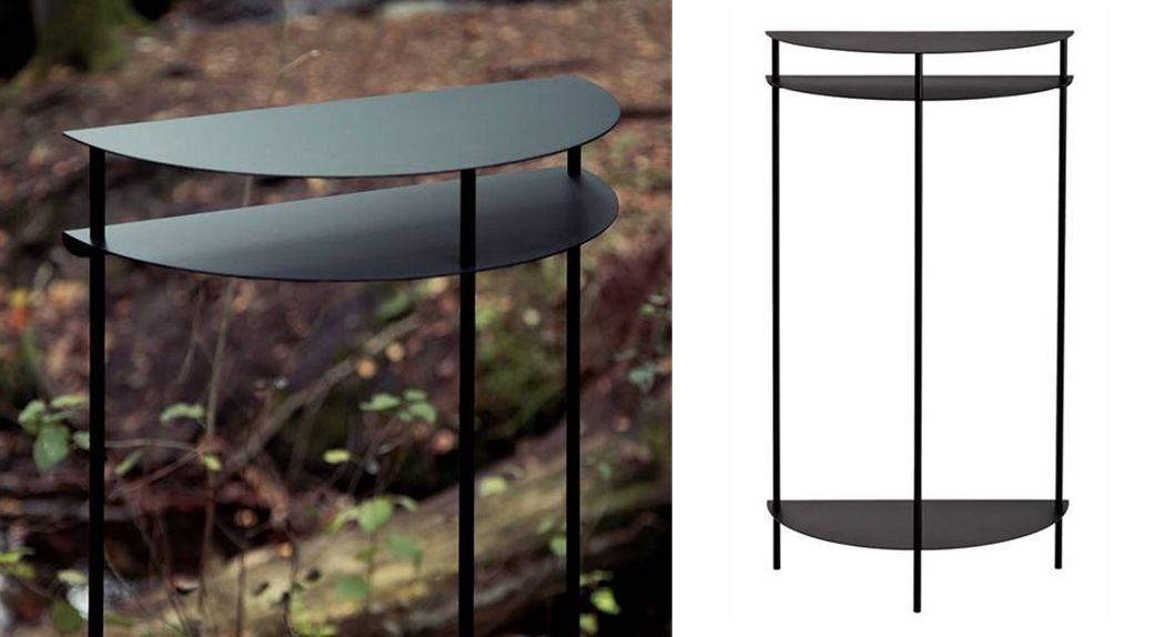 Müllern kontor Half moon console table Consoles Tables and Misc.  |