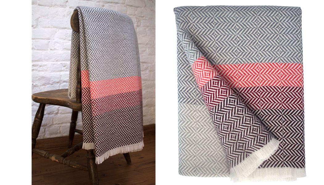 PAMELA PRINT Tartan rug Bedspreads and bed-blankets Household Linen  |