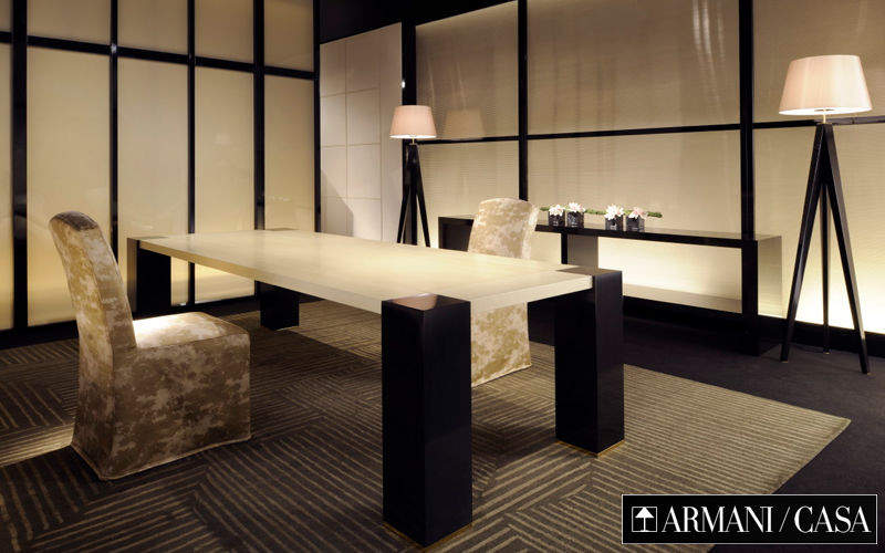 Armani Casa Rectangular dining table Dining tables Tables and Misc. Dining room | Design Contemporary