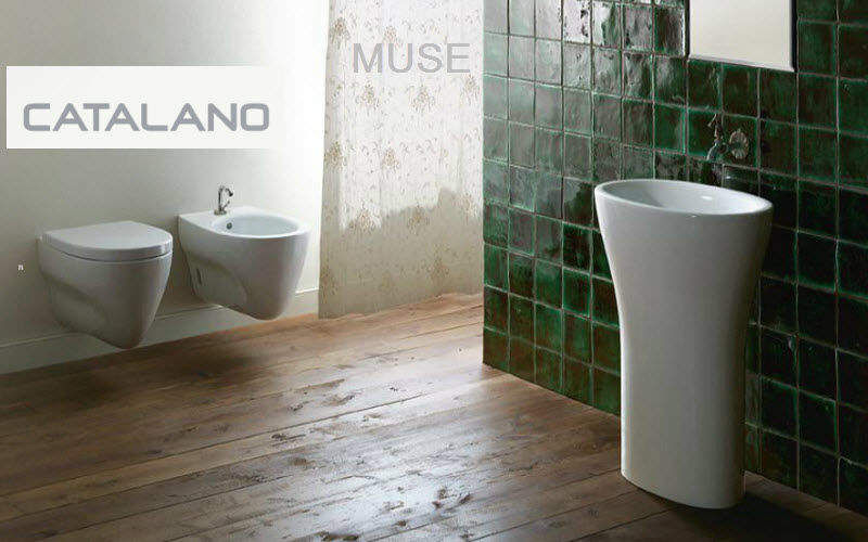 CATALANO Pedestal washbasin Sinks and handbasins Bathroom Accessories and Fixtures Bathroom | Design Contemporary
