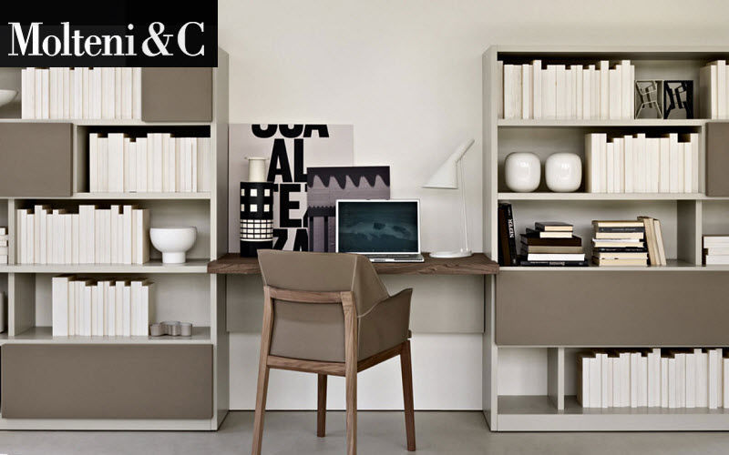 Molteni & C Shelf Shelves Storage Home office | Design Contemporary