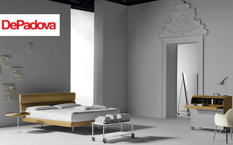 DE PADOVA Double bed Double beds Furniture Beds Bedroom |