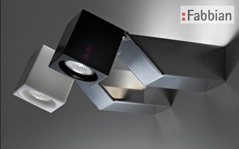 Fabbian Mounted spotlight Lights spots Lighting : Indoor Living room-Bar | Design Contemporary