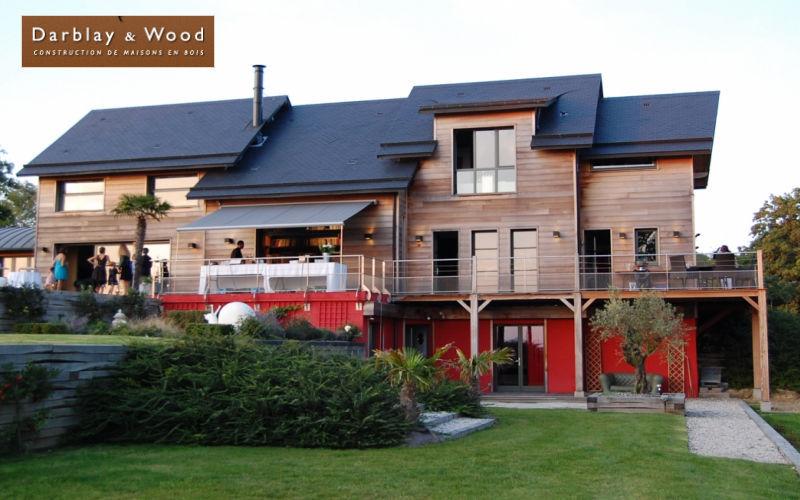 Darblay & Wood House Houses Houses Balcony-Terrace   Design Contemporary