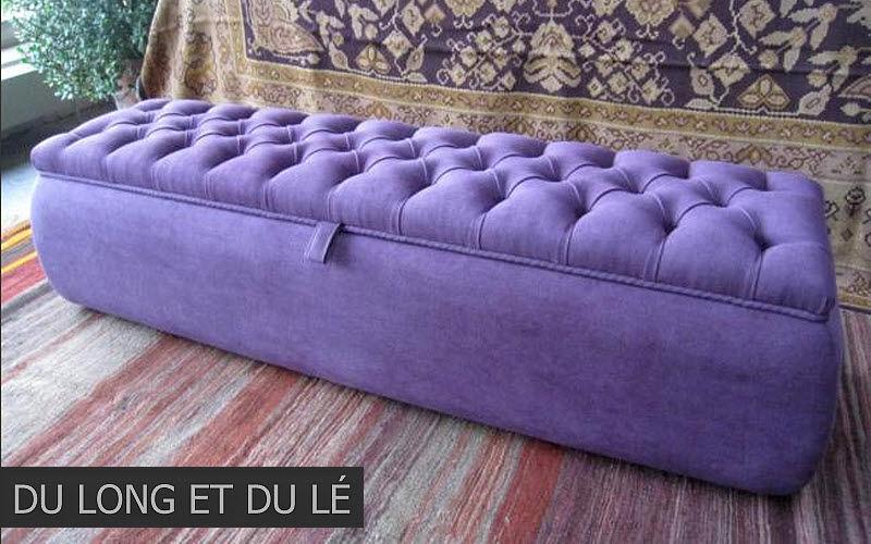 Du Long et du Lé Blanket chest Benches Seats & Sofas  |
