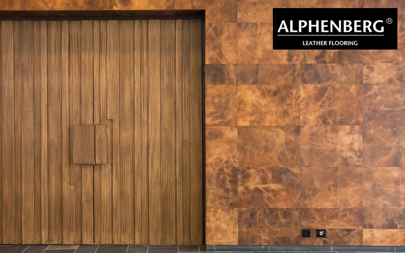 ALPHENBERG LEATHER Leather tile Alternative wall surfaces Walls & Ceilings  |