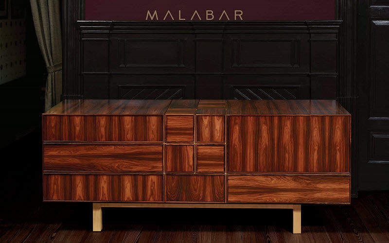 MALABAR Low sideboard Cabinets and Buffets Storage  |