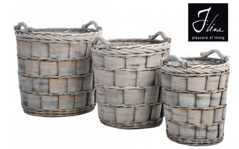 J-line Basket Baskets Decorative Items  |