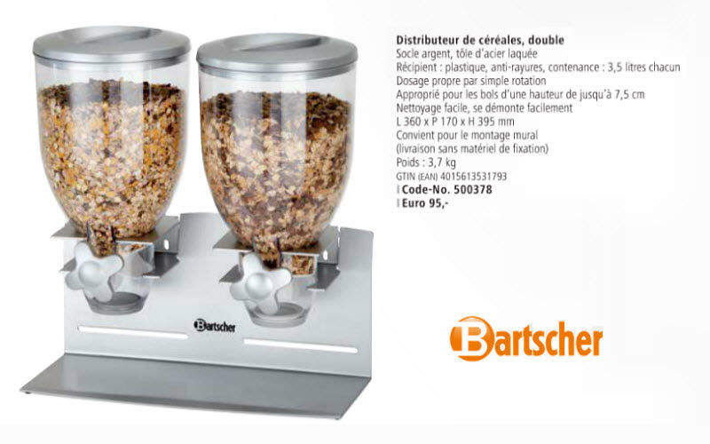 Bartscher Cereal dispenser Distributors Kitchen Accessories  |