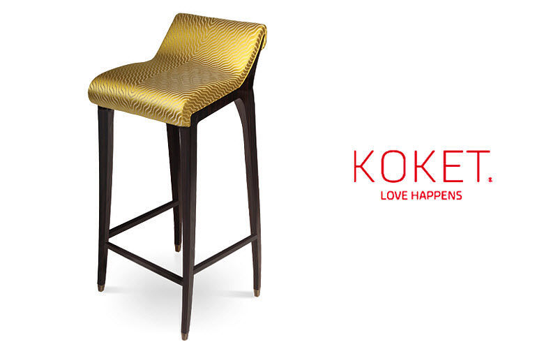 KOKET LOVE HAPPENS Bar stool Footstools and poufs Seats & Sofas  |