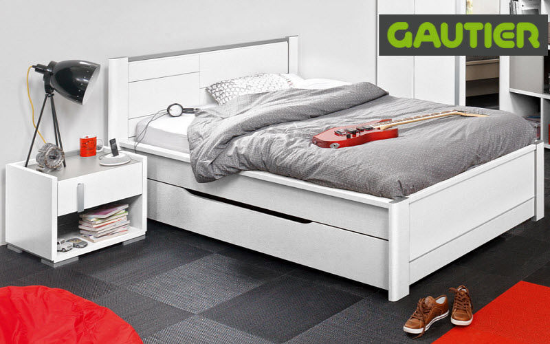 Gautier Bed with drawers Single beds Furniture Beds  |