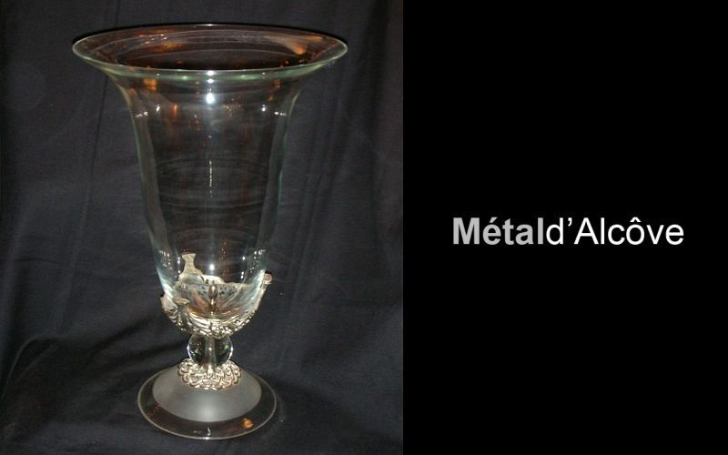 Metal D'alcove Eric Katz Flower Vase Vases Flowers and Fragrances  |