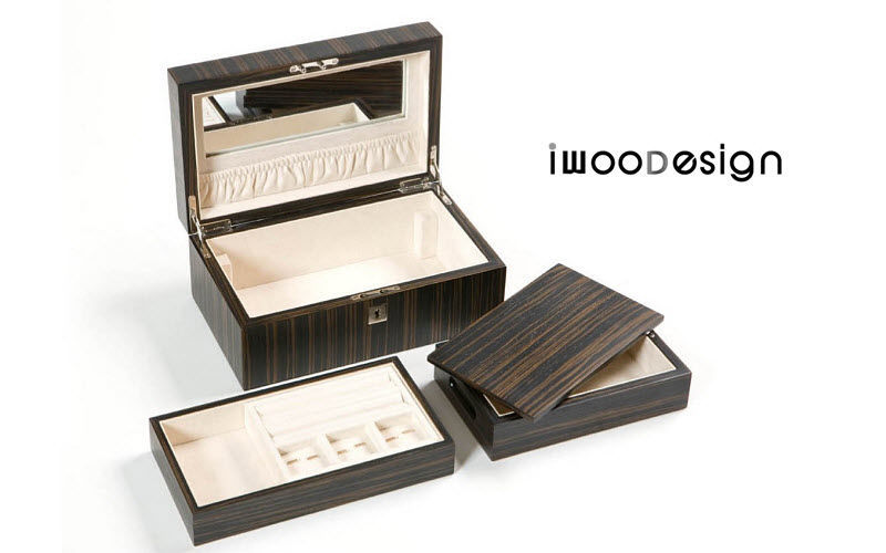 IWOODESIGN Jewellery box Caskets Decorative Items  |