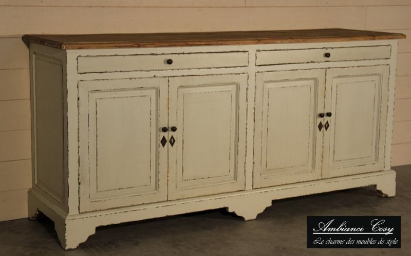 AMBIANCE COSY Low sideboard Cabinets and Buffets Storage  |