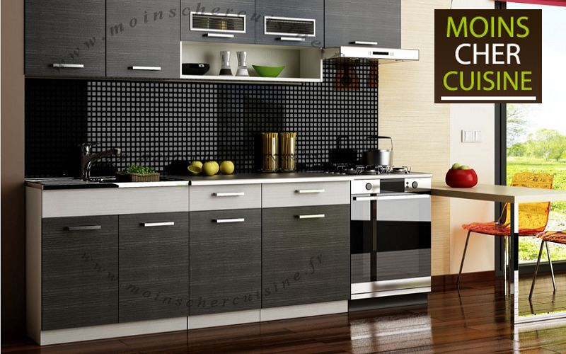 MOINS CHER CUISINE Kitchen in kit Fitted kitchens Kitchen Equipment  |
