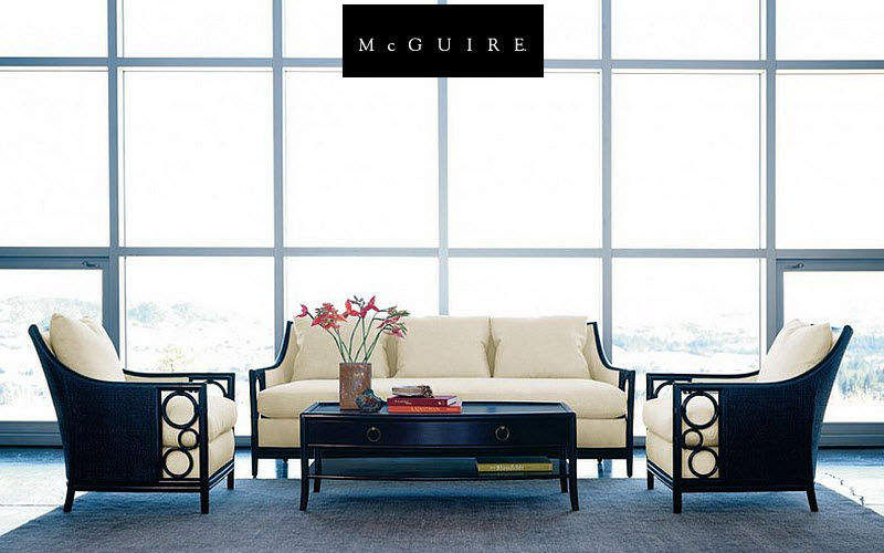 McGUIRE Lounge suite Drawing rooms Seats & Sofas Living room-Bar | Design Contemporary