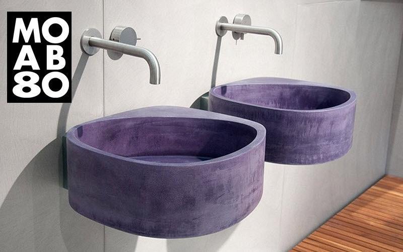 MOAB 80 Wall mounted washbasin Sinks and handbasins Bathroom Accessories and Fixtures  |